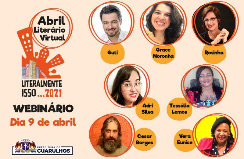Abril Literário apresenta Webinário nesta sexta-feira